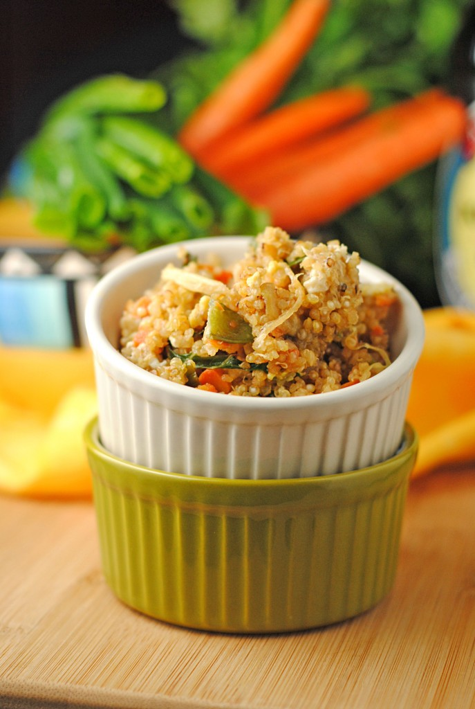 Asian Fried Quinoa from