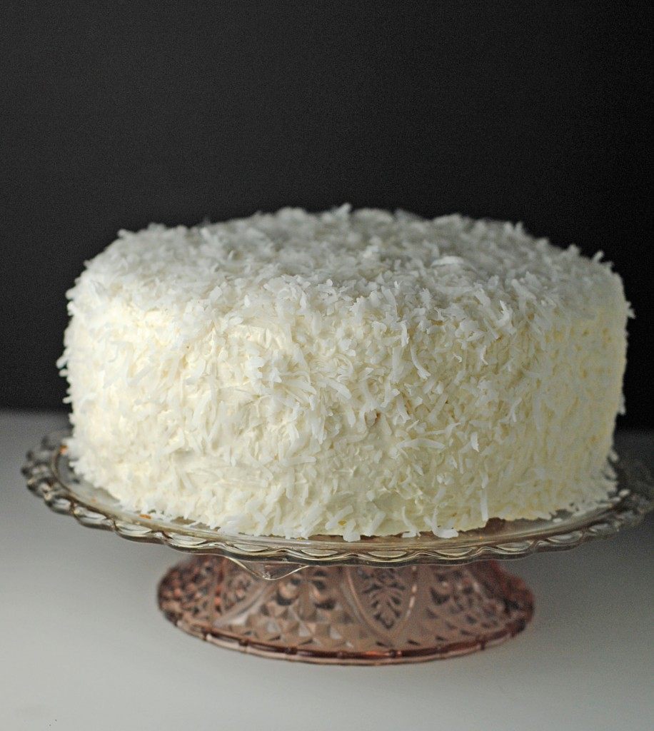 Coconut Cake with Coconut Buttercream Frosting ~ Easter + Passover #SundaySupper! | Juanita's Cocina