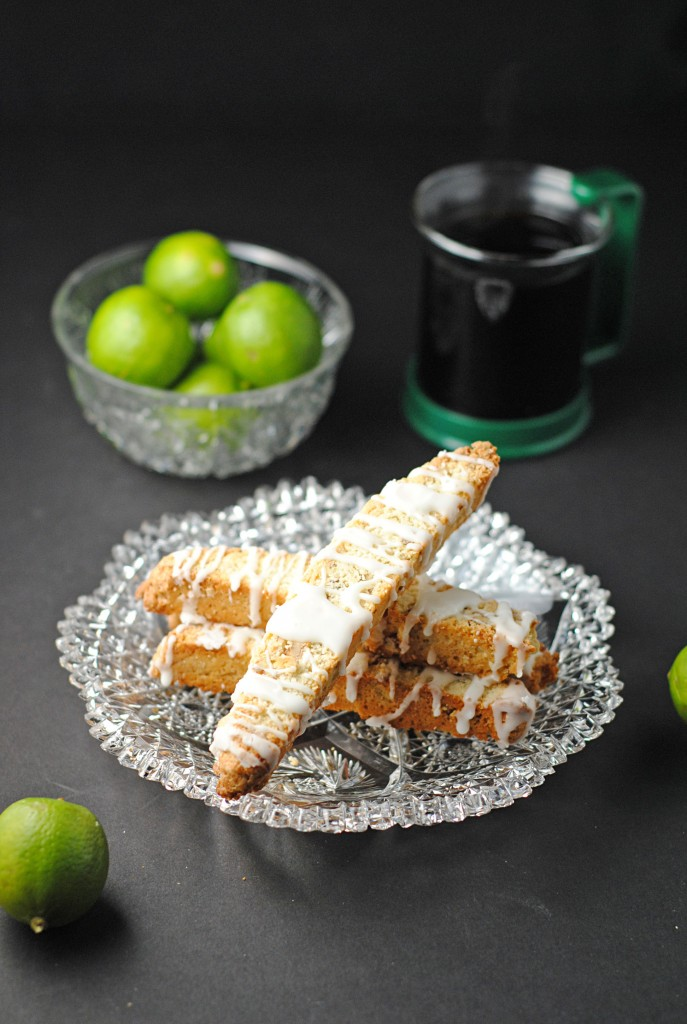 Key Lime Biscotti with Key Lime Glaze ~ Citrus #SundaySupper! | Juanita's Cocina