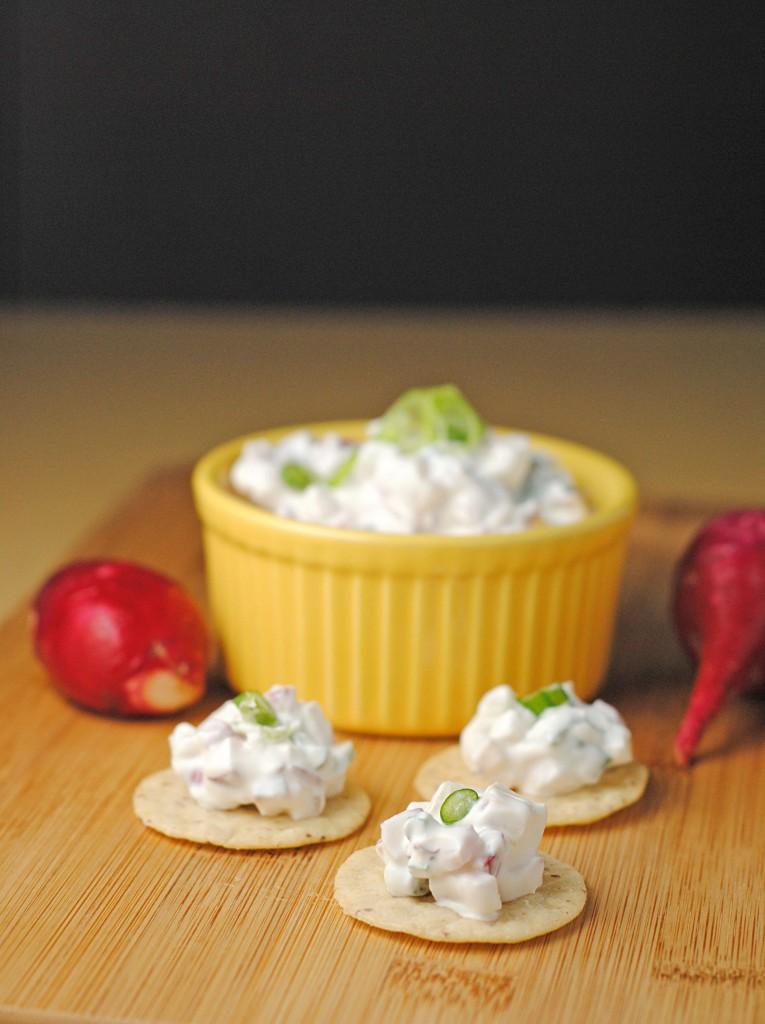 Healthy Snacking with Creamy Radish Dip ~ #RecipesFromTheHeart! | Juanita's Cocina