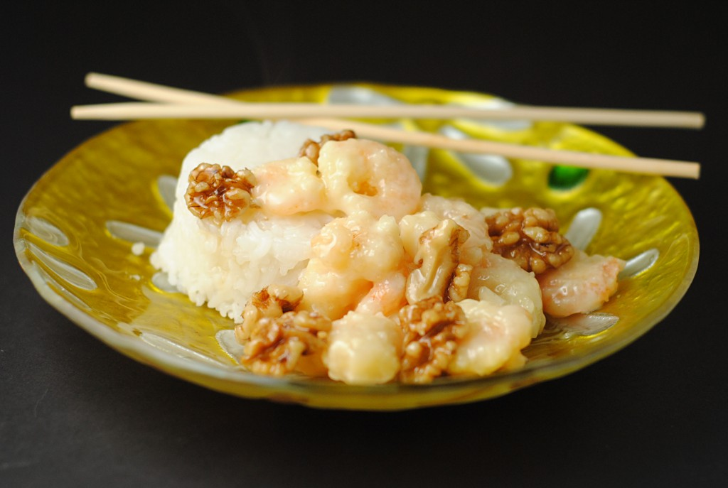 Honey Walnut Shrimp ~ Plus a Mazola Corn Oil #Giveaway! | Juanita's Cocina